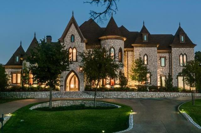 7 stunning homes for sale in southlake tx for Castle style homes for sale