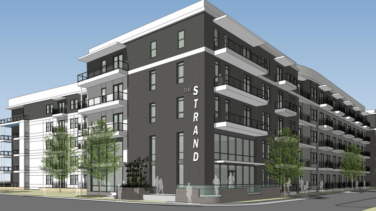 Construction begins for new 400 unit apartment complex in for Apartment complex designs
