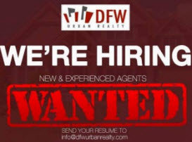 Dallas Fort Worth Realtors Wanted