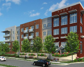 Avant at 1955 market center offers new urban apartments in for Apartment design district dallas