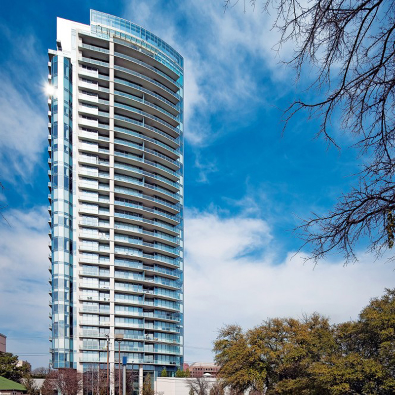 Top 10 High Rise Condo Amp Apartment Buildings In Dallas