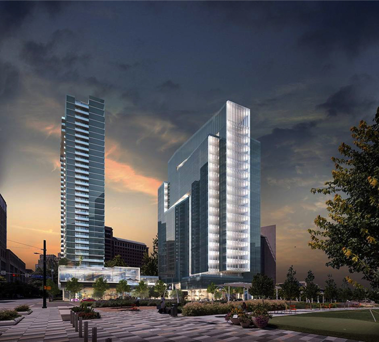 Uptown High-Rise Dubbed Largest Development In Downtown Dallas