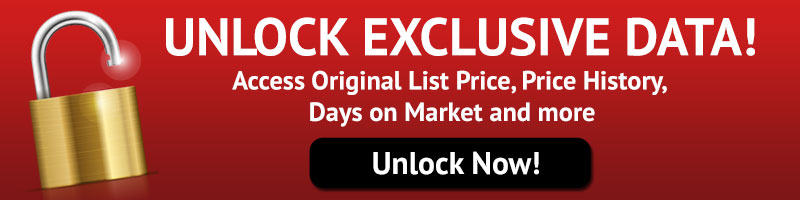 Register and unlock exclusive MLS data on homes in Dallas Fort Worth including days on market, original list price, sold price, price history and more