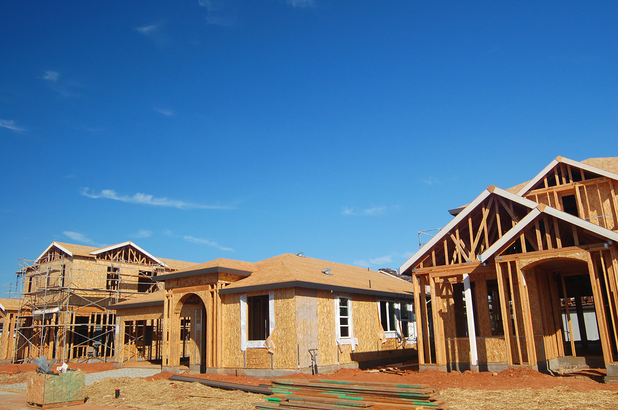 First Homes At The New Gateway Parks Community Nearing