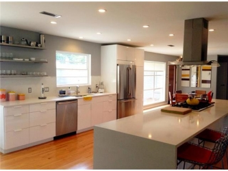 Open House on Beautiful Contemporary Home in Kessler Park on Sunday