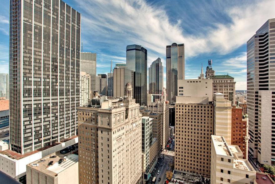 Metropolitan High Rise Condos In Downtown Dallas 1200