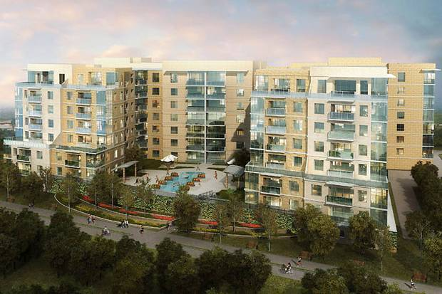 Luxury Apartments Along Katy Trail