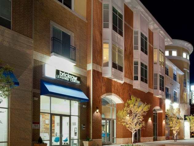 Brick Row Urban Village offers luxury urban apartments at 744 Brick Row in Richardson