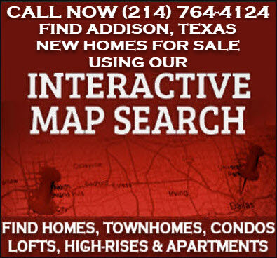 Addison, TX New Homes & Condos For Sale