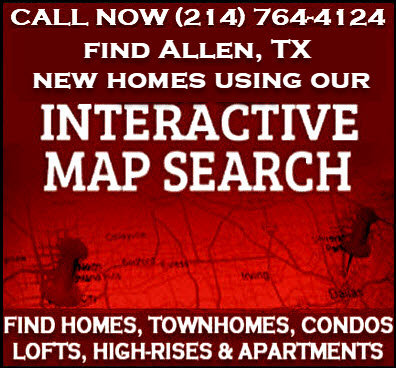 Allen, TX New Construction Homes for Sale - Builder Incentives
