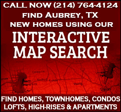 Aubrey, TX New Construction Homes For Sale - Builder Incentives