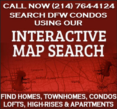 Search Condos in Dallas Fort Worth, TX by Map