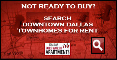 Downtown Dallas townhomes for rent