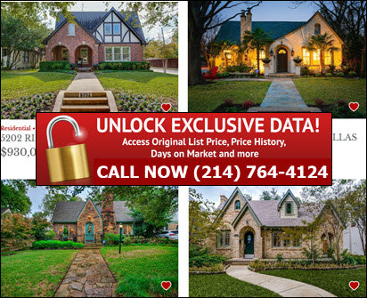 Greenland Hills M Streets Dallas, TX Real Estate & Homes For Sale