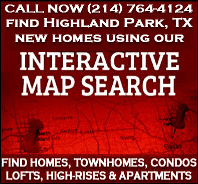 Highland Park, TX New Construction Homes For Sale - Builder Incentives