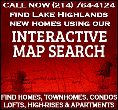 Lake Highlands Dallas, TX New Construction Homes For Sale - Builder Incentives