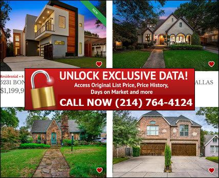 M Streets Dallas, TX Real Estate & Homes For Sale