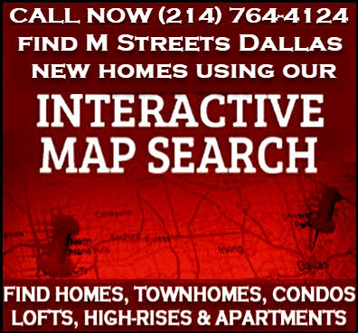 M Streets Dallas, TX New Construction Homes For Sale - Builder Incentives