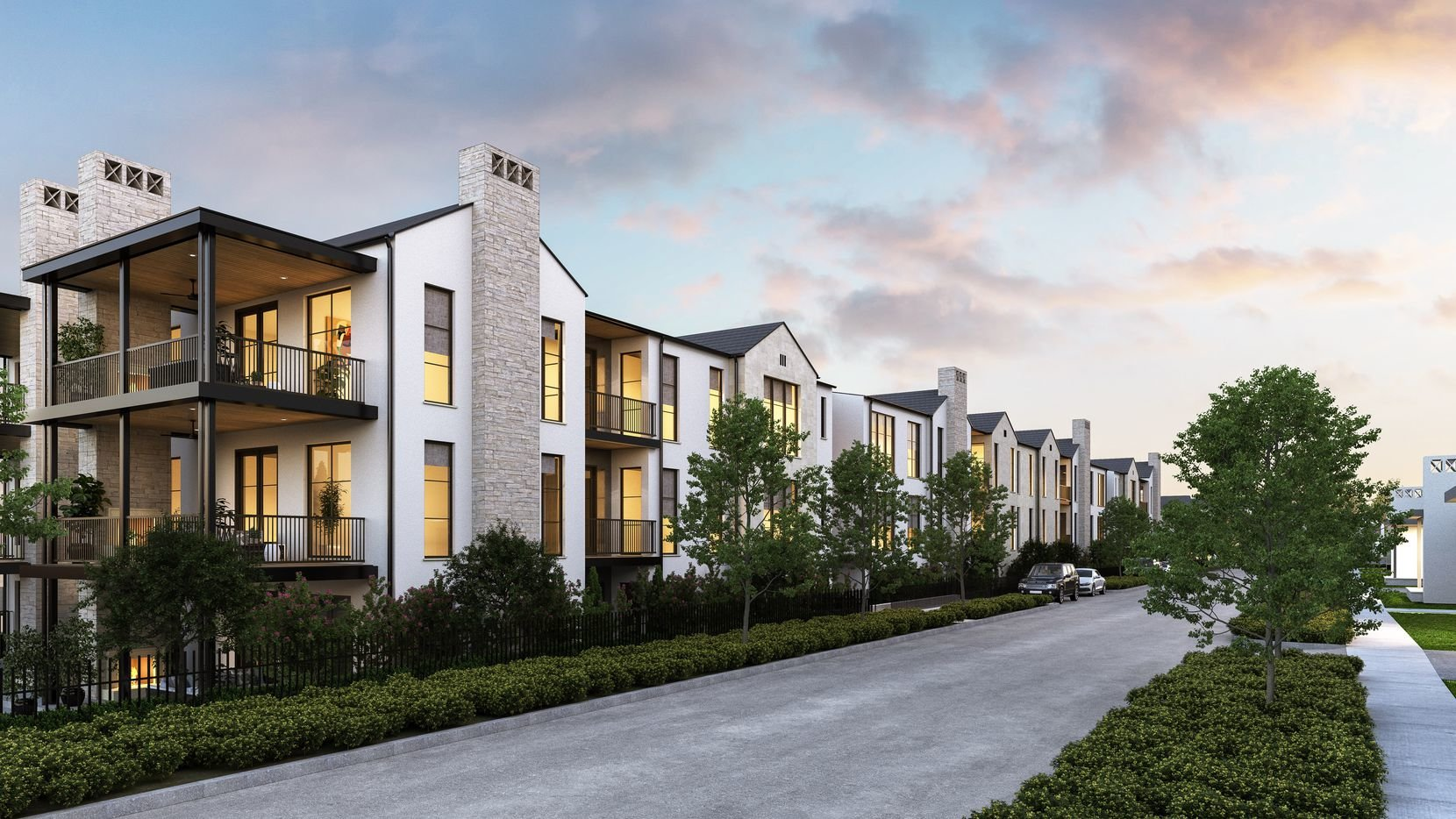North Dallas, TX Preston Hollow Condos For Sale at City Homes