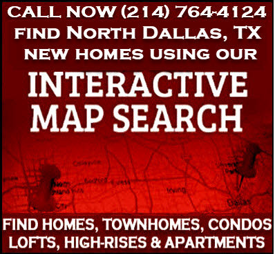 North Dallas, TX New Construction Homes For Sale - Builder Incentives
