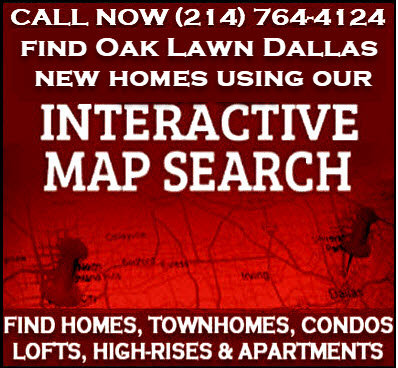 Oak Lawn Dallas, TX New Construction Homes For Sale - Builder Incentives