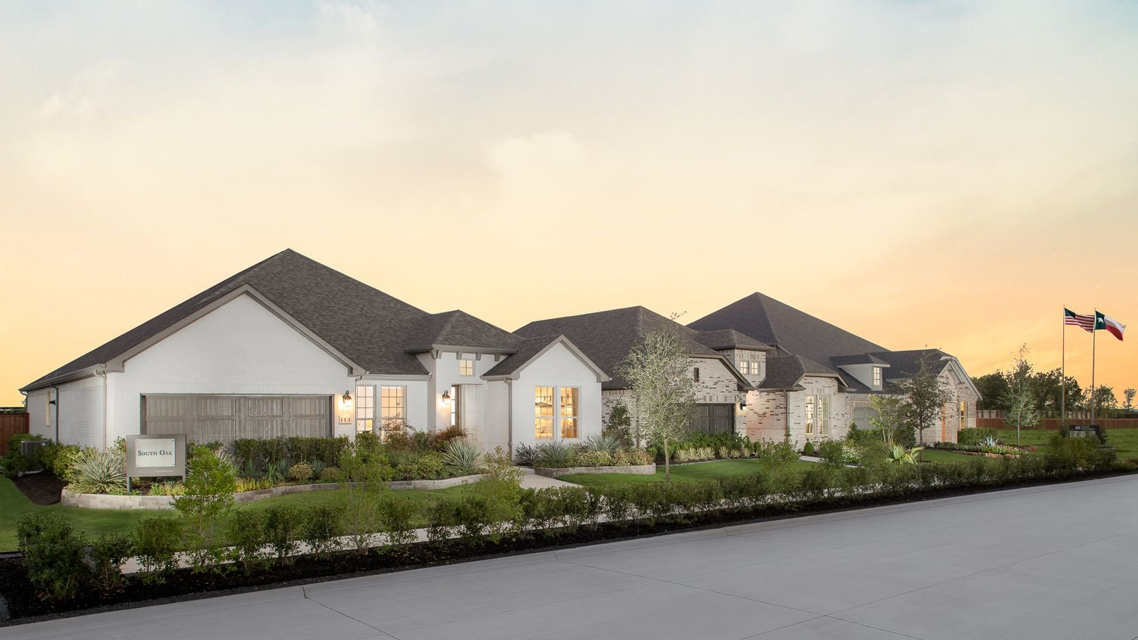 South Oak New Homes For Sale on Lewisville Lake in Oak Point, TX