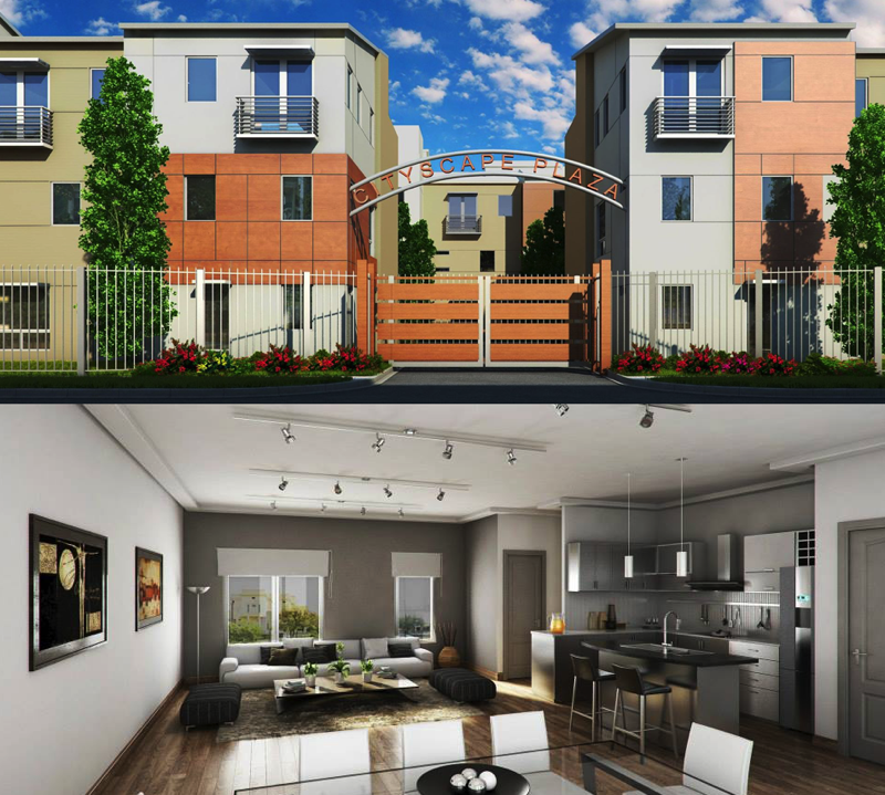 CityScape Plaza Townhomes For Sale