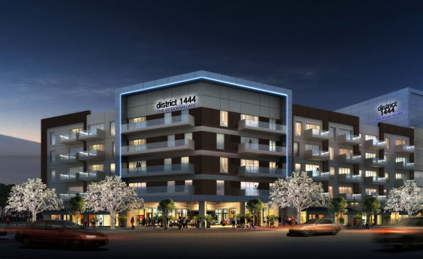 New Mixed Use Urban Design Village At District 1444 In Dallas Uptown Harwood