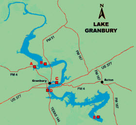 Lake Granbury, TX Waterfront Homes & Lakehouses For Sale