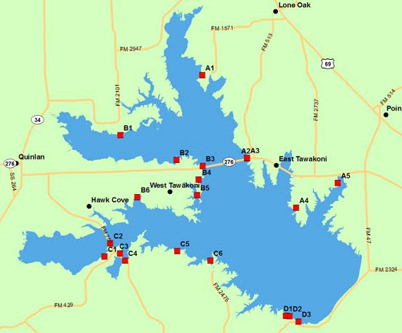 Lake Tawakoni, TX Waterfront Homes & Lakehouses For Sale