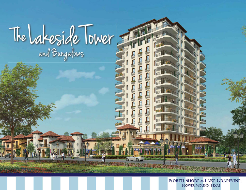 Lakeside Tower Condos For Sale, Flower Mound, TX