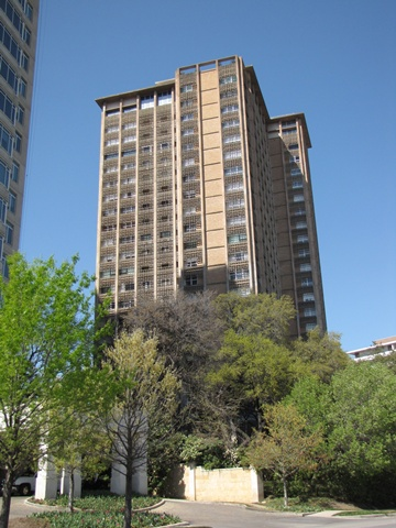 3525 Turtle Creek high rise condos in Dallas