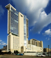 W Residences High Rise Condos located at 2408 Victory Park in Dallas